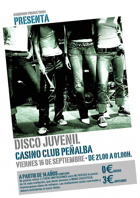 Cartel Fiesta Juvenil 2